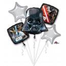 Bouquet 'Star Wars Classic' 5 Folienballons, verpa