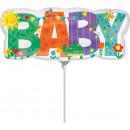 Mini Shape 'Welcome Baby - Pennant Chain'