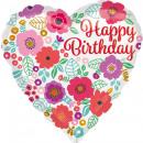 mayorista Alimentos y bebidas: Estándar ' Happy Birthday - estampado de flore