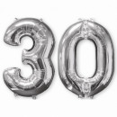 26 'pack' 2 'Silver-30', 2 ballons