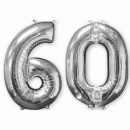 Pack de 2 'Silver-60', 2 ballons en alumin