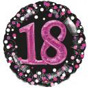 Multi Balloon Sparkling Pink 18 fólia ballon verpa
