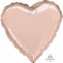 Coeur de ballon standard 'Rosé Gold', en v