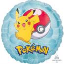 Standard 'Pokemon' Folienballon Rund , verpackt,