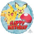 Ballon en papier standard 'Pokemon HBD', p