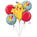 Bouquet 'Pokemon' Foil Balloon, Packed,