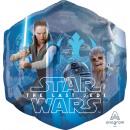 Großhandel Spielwaren: SuperShape 'Star Wars - Die letzen Jedi' Folienbal