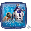 Großhandel Spielwaren: Standard 'Star Wars - Die letzen Jedi' Folienballo