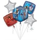 Großhandel Spielwaren: Bouquet 'Star Wars - Die letzen Jedi' 5 Folienball