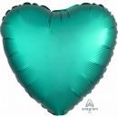 Standard ' satin Luxe Jade' foil balloon h