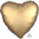 Ballon Plat Standard ' satin Luxe Gold Sateen&