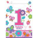 8 party táska Sweet Birthday Girl