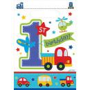 8 party táska Minden Aboard születésnapja