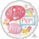 Standard 'Best Mom Ever - Sprechblasen' Folienball