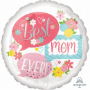 wholesale Gifts & Stationery: Jumbo 'Best Mom Ever - Speech Bubbles' Foi