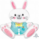 Multi-Balloon 'Big, Sitting Bunny' Foil Ba