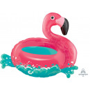 SuperShape 'Flamingo - Floating' foil ball