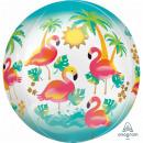 Orbz 'Let's Flamingle' foil balloon, p