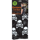 wholesale School Supplies: Gym Bag Skull Treat Sack polyester 35 x 43,