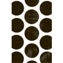 10 Papiertüten Polka Dot schwarz 11,3 x 17,7 cm