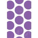 10 Papiertüten Polka Dot violett 11,3 x 17,7 cm