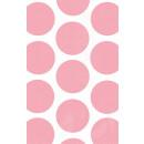 10 Papiertüten Polka Dot rosa 11,3 x 17,7 cm