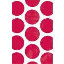 10 Papiertüten Polka Dot apfelrot 11,3 x 17,7 cm