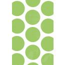 10 papírzacskó polka dot kiwi 11,3 x 17,7 cm