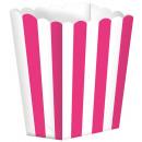 5 karton doboz Rózsaszín csíkos 9,5 x 13,5 cm
