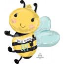 Supershape Mi lesz a méh fólia léggömb csomagolva
