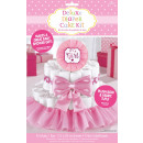 Diaper cakes decoration set girls 4-piece