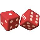 Großhandel Holzspielzeug: 2 Würfel aufblasbar Place Your Bets 30 x 30 ...