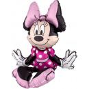 mayorista Articulos de fiesta: Sitter Minnie Mouse Foil Globo Embalado