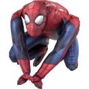 Sitter Spider-Man foil balloon packaged