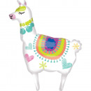 Supershape Llama Foil Balloon Packed 71cm x 104c