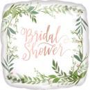 Standard Love & Leaves Bridal Shower Foil Ball