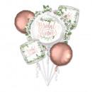Bouquet Love & Leaves bruids douchefolie ballo