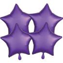 Multi-Pack szatén Luxe csomag 4 lila Royale Ster