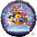 Standaard LEGO Movie 2 folieballon verpakt