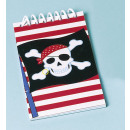 Großhandel Hefte & Blöcke: 12 Notizblöcke Pirate Party
