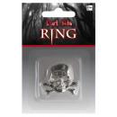 Totenkopf-Ring Gothic