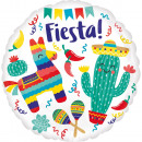 Standard Fiesta Party Foil Balloon Packed