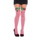 Großhandel Strümpfe & Socken: 2 halterlose Strümpfe Feiertage Einheitsgröße