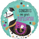 Standard Congrats On Your Dipllama Folienballon ve