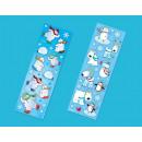 Matricás készlet Joyful Snowman 8 lap 15 x 5 cm