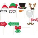 Fotorequisiten-Set Weihnachten 13-teilig