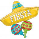 SuperShape Papel Picado Fiesta Cluster Foil Balloo