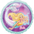 wholesale Others: Standard mermaid Barbie Packed foil balloon