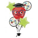 Bouquet de ballons en feuille pour le bouquet Futu