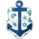 SuperShape Sea, Sand & Sun Folienballon verpackt 5